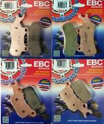 Ebc Severe Duty Front Rear Brake Pad Kit For Can Am Defender 800 1000