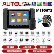 Autel Maxisys Ms906ts Obd2 Car Diagnostic Scanner Tpms Service Tool As Ms906bt