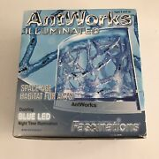 Antworks Illuminated Space-age Habitat For Ants - New Open Box