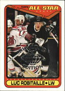 1990-91 Topps Nscc Diamond Ed 194 Luc Robitaille Kings/1 Of 1 F16090