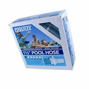 Poolflex 720nb Swimming Pool Hose 1-1/2 In. X 25 Ft 1-1/2 In. X 25 Ft.