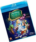 Alice In Wonderland Two-disc 60th Anniversary Blu-ray/dvd Combo