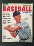 Vintage 1953 Dell Baseball Annual Magazine 1st Issue - Mickey Mantle M1914