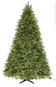 Martha Stewart 7.5 Ft Denison Christmas Tree Remote Control Clear And Multicolor