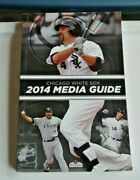 2014 Chicago White Sox Media Guide Frank Thomas W/schedule Back Paperback Book