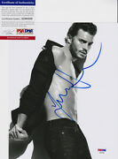 Jamie Dornan Fifty Shades Of Grey Signed Autograph 8x10 Photo Psa/dna Coa 2