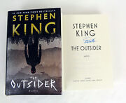 Stephen King Signed Autograph 1st Edition The Outsider Hardcover Book