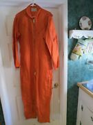 Vintage Us Navy Buaer Coverall Flying Suit Pilot Post Ww2 Korea War