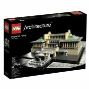 Lego Architecture 21017 Imperial Hotel Retired New Sealed