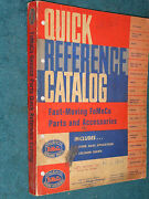1949-1961 Ford Car And Truck Quick Reference Parts And Accessories Catalog 60 59 58+