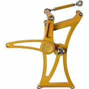 Performance Machine 0035-1175m-smg Ops Mid Controls Harley M8 Touring Gold