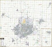 Sioux Falls, Sd Wall Map