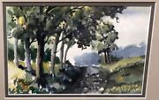 Rare Vintage Watercolor By African American Artist Thomas Malloy 1913-2008, 3