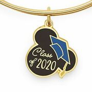 Disney Parks Collectionmickey Graduation Cap Bangle Alex And Ani Class Of 2020