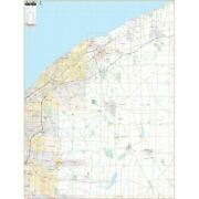 Lake And Geauga Counties Oh Wall Map