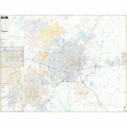 Greensboro High Point And Guilford County Nc Wall Map
