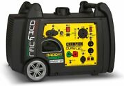Champion 3,400-w Portable Dual Fuel Gas Inverter Generator With Electric Start