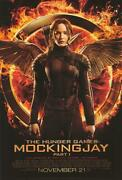 Hunger Games Mockingjay - Part One Movie Poster 27x40 Original 2-sided