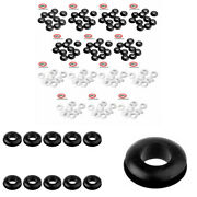 10pcs Silicone Sealing Washer Grommet For Mason Jar Airlock Lid Wine Beer Making