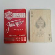 Iberia Airlines Fournier Playing Cards Deck Box Unopened Sealed Original Spain