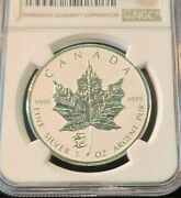 2012 Canada Silver 5 Maple Dragon Privy Ngc Sp 69 Beautiful Coin