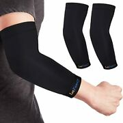 Copper Elbow Brace 1 Pair Elbow Compression Sleeve For Tendonitis Arthritis..