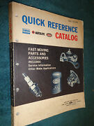 1949-1965 Ford Car And Truck Quick Reference Parts And Service Book Catalog 64 63 62