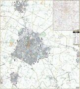 Lexington And Fayette County Ky Wall Map