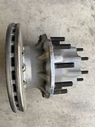 Semi Truck Rear Air Disc Brake With Hub Right Side