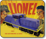 Lionel 626 B Ando 44 Ton Diesel Mouse Pad
