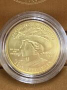 2014 Us Mint .9999 Fine Uncirculated Gold Coin Florence Harding 1/2 Ounce