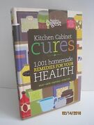 Kitchen Cabinet Cures 1001 Homemade Remedies For Your Health By Readerand039s Digest