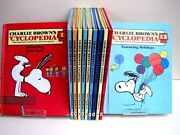 Charlie Brown's 'cyclopedia Super Questions And Answers And Amazing Facts, 12 Books