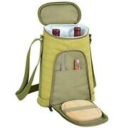 D Wine And Cheese Cooler, Picnic Backpack Bag, For Outdoor Hamptons