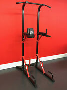 Fxr Sports Power Tower Tricep Dip Station Pull Push Sit Up Pull Up