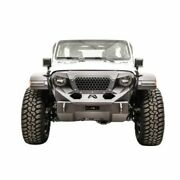 Fab Fours Gr4650-1 Grumper Front Winch Bumper For 2018 Jeep Wrangler Jl New