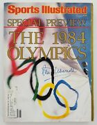 Peter Ueberroth Signed Sports Illustrated Magazine 1984 Olympics Special Rad