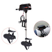 Hangkai 48v 2.2kw Electric Outboard Motor Kayak Boat Engine Propeller Tiller