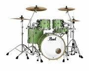 Mct924xedp/c348 Pearl Masters Maple Complete 4-pc. Shell Pack Absinthe Sparkle