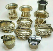 Vintage Ronson Table Lightersandnbspand Urns - Mixed Lot Of 10 Items
