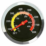 Thermometer Barbecue Temperature Gauge Grill Wood Smoker Durability Waterproof