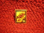 Overland Mail 29-cent Stamp Pin Made In Usa 1994