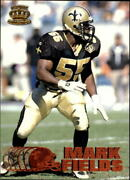 1997 Pacific Copper New Orleans Saints Football Card 256 Mark Fields