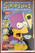 Simpsons Comics And Stories 1993 1 - Sandn Continental Coa - Only 500 Signed