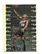 1999-00 Sp Authentic Basketball Pick Your Inserts Including Sign Of The Times