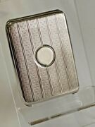 Art Deco 1920 Solid Silver Matchbook Case Holder Bryant And May Matchbook