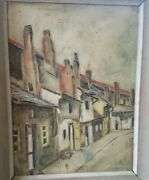 Oil Painting-early Texas And Ny Listed Artist Chester Snowden-modernist Numbered