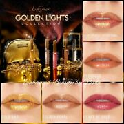 Senegence Lipsense And Gloss Golden Lights Collection Free Oops Remover And Bag 125