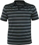 Under Armour Menand039s Performance Golf Polo Coolswitch Shirt Striped Top
