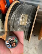 2500and039 14 Gauge 7 Way Conductor Wire Rv Trailer Copper Cable Harness Plug 14/7